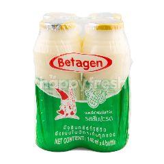 บีทาเก้น นมเปรี้ยวชนิดโยเกิร์ต รสสับประรด 140 มล (แพ็ค 4)