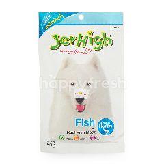 Jerhigh Makanan Anjing Stik Rasa Ikan