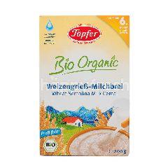 Topfer Bio Organic Sereal Susu Gandum Semolina