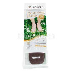 เฮลโลฮีล แผ่นรองพื้นในรองเท้า รุ่นดีโอไรซิ่ง อินโซลส์ สีเทา