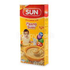 Sun Bubur Susu Rasa Pisang dan Susu