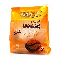 Nutrigold 3 In 1 Instant Premix Coffee Mild (30 Sticks)