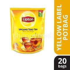 Lipton Yellow Label (20 Potbags)