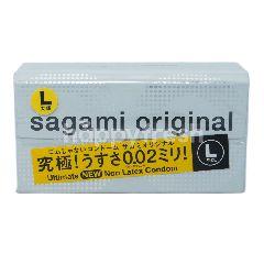 Sagami Kondom Original Non Lateks Ukuran L