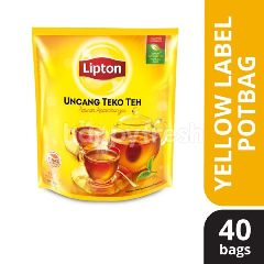 Lipton Yellow Label (40 Potbags)