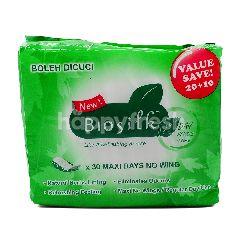 Biosilk Pantyliners Day Herbal Cottony