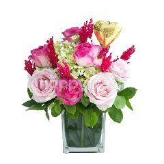 Emme Florist Candy Golden Heart