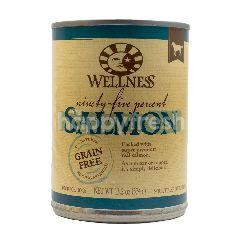 Wellness Makanan Anjing Sembilan Puluh Lima Persen Daging Salmon