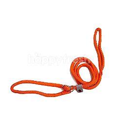 Dog Leash Adjustable Loop Rope (Orange) (Medium)