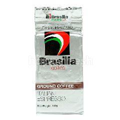 Brasilia Italian Espresso Ground Coffee
