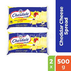Chesdale Cheddar Cheese Spread Twinpack