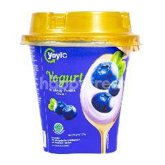 Yoyic Yogurt Rasa Blueberry Vanila