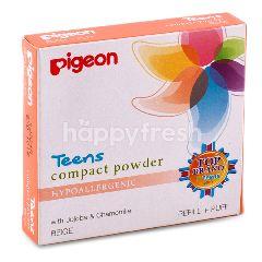 Pigeon Bedak Compact Beige Untuk Remaja