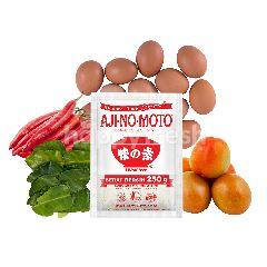 Ajinomoto Special Bundle for Telur Balado Recipe