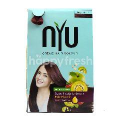 NYU Crème Hair Color Burgundy