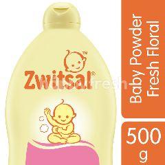 Zwitsal Bedak untuk Bayi Klasik dengan Aroma Floral dan Ekstrak Kanola