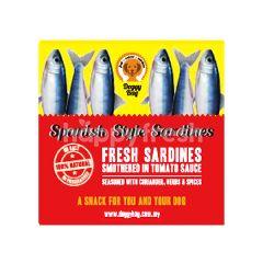 Doggy Bag Spanish Style Sardines Dog Food