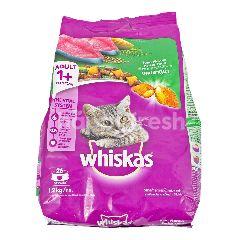 Whiskas Makanan Kucing Rasa Ikan Tuna dengan Salmon Pocket