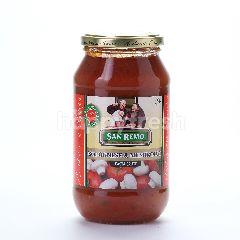 San Remo Bolognese dan Jamur