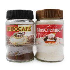 Indocafe Jumbo Set Kopi 450g  Krimer Non Dairy 200g