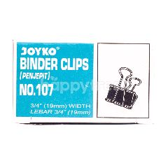 Joyko Penjepit Binder No. 107 19x19mm