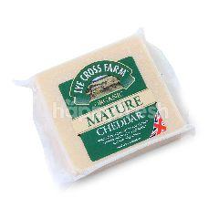 LYE CROSS FARM Organic Mature Cheddar