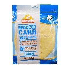 Mission Reduced Carbs Wraps (6 Pieces)