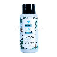 Love Beauty And Planet Kondisioner Volume & Bounty Air Kelapa & Aroma Bunga Mimosa