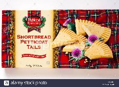 HIGHLAND SPECIALITY Shortbread Petticoat Tails