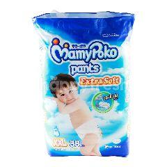 MamyPoko Popok Celana Bayi Laki-Laki Ekstra Lembut Ukuran XXL