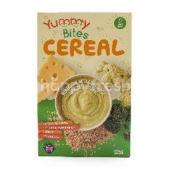 Yummy Bites Sereal Biji-Bijian dengan Kol Brokoli dan Keju