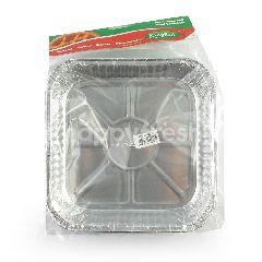 Kingfoil Wadah Makanan Alumunium Foil OX 1550 TP