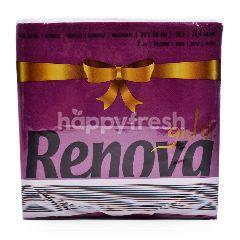 Renova Gold Napkins (40 Pieces)