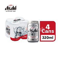 Asahi Beer Can (320ml x 4)
