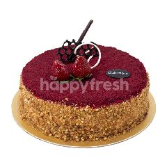 Clairmont Red Velvet Nougat Cake 30x30