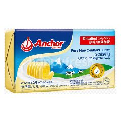 Anchor Butter Unsalted New Zealand Pure Butter