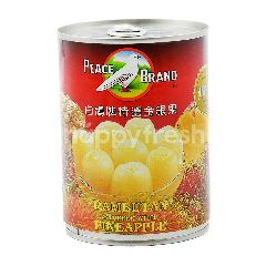 Peace Brand Rambutan With Pineapple In Water And Sugar