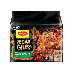 Maggi Pedas Giler Ayam Bakar Mi Goreng Instant Noodle (Packet)