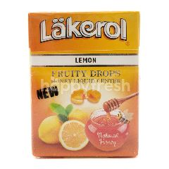 Lakerol Permen Rasa Lemon dengan Isian Madu