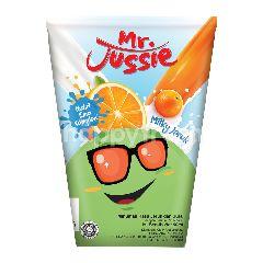 Mr. Jussie Milky Minuman Rasa Jeruk