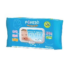 PUREBB Tisu Basah untuk Tangan & Mulut Bayi Ekstrak Liday Buaya