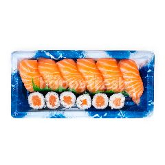 Aeon Set Sushi Salmon