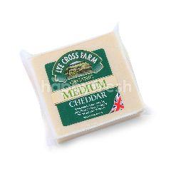 LYE CROSS FARM Organic Medium Cheddar Block