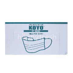 Koyo 3ply Earloop Face Mask (50 pieces)