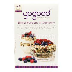 Yogood Gourmet Muesli Blissful Blueberry and Cranberry