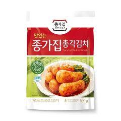 Chongga Ponytail Radish Kimchi 500G