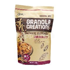 Granola Creations Original Mix Authentic Toasted Muesli Kayu Manis & Kismis