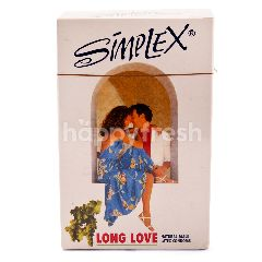 Simplex Kondom Lateks Alami Long Love