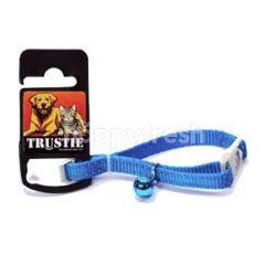 Trustie Reflect Cat Collar (Blue)