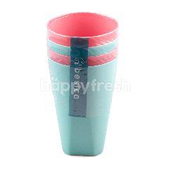 เบสิโค เบซิโค แก้วพลาสติก 1 แพ็ค จำนวน 4 ใบ